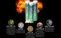 Ra mắt viên sủi hỗ trợ tăng cường sinh lực Zextor chứa Tang phiêu tiêu