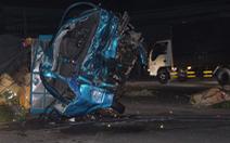 Đề nghị khởi tố vụ án xe khách với xe tải tông nhau làm 3 người chết ở Bình Dương
