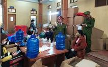 Triệt phá cơ sở sản xuất dung dịch rửa tay hoạt động 'chui'