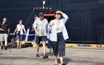 Tàu du lịch với gần 700 khách quốc tế cập bến Bà Rịa - Vũng Tàu