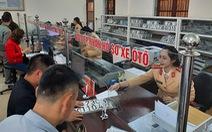 Đăng ký mới ôtô ở Quảng Bình chỉ mất 180 phút