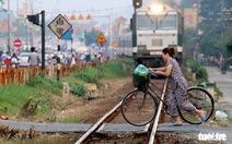 Cần gần 6.700 tỉ đồng để xóa hàng ngàn lối đi tự mở qua đường sắt