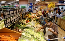 Nguồn hàng trong các siêu thị  vẫn đảm bảo giữa mùa dịch