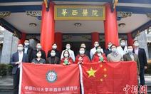 Trung Quốc gửi đội chuyên gia tới Ý hỗ trợ chống COVID-19