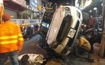 'Xe tự lái' tông hàng loạt ôtô, xe máy ở phố Tây Đà Lạt