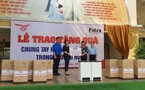 FITIS tặng thùng rác thông minh cho trường tiểu học