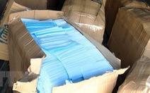 Hà Giang: Khởi tố bị can buôn lậu hơn 186.000 khẩu trang y tế