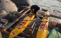 3 du khách Nga trôi dạt trên biển do dùng phao tự chế ra đảo