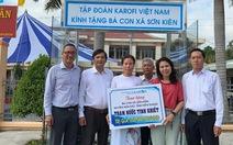 Trang bị Trạm cấp nước tinh khiết cho xã bị ngập mặn Sơn Kiên, tỉnh Kiên Giang