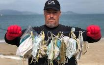 Hong Kong đối mặt vấn nạn ô nhiễm môi trường từ khẩu trang bỏ đi