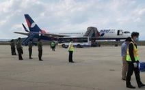 Máy bay Nga chuẩn bị đáp xuống Cam Ranh nhận được tin báo có bom