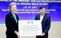 UNDP hỗ trợ dân ĐBSCL 185.000 USD chống hạn mặn