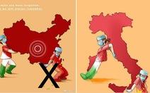 Tri ân người Ý từng giúp đỡ, Trung Quốc 'nhân tiện' vẽ đường lưỡi bò xuyên tạc Biển Đông