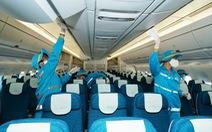 Vietnam Airlines vệ sinh, khử trùng các chuyến bay trong nước thế nào?