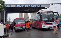 Dừng hoạt động xe khách, xe taxi, chỉ khai thác 3 đường bay, 2 đoàn tàu