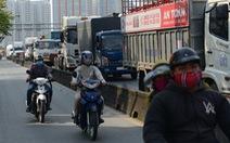Rào chắn mở rộng đường Đồng Văn Cống thêm 2 làn