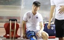 HLV Park Hang Seo lo lắng khi Duy Mạnh bị đứt dây chằng gối