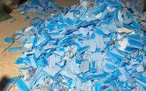 Bộ Y tế cảnh báo tình trạng thu gom khẩu trang đã sử dụng tại bệnh viện