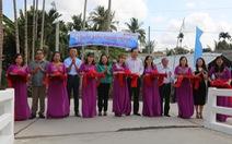 Vietbank khánh thành cầu giao thông nông thôn tại tỉnh Sóc Trăng