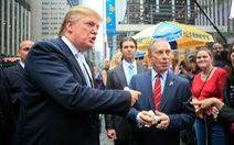 Trump - Bloomberg: Hai tỉ phú New York từ đối tác đến đối thủ