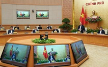 Dừng tổ chức hội nghị trực tuyến giữa Chính phủ với địa phương ngày 31-3