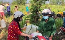 Thêm 150.000 lít nước từ TP.HCM về với bà con vùng hạn mặn