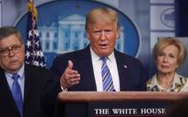 Ông Trump: Các thuốc trị COVID-19 sắp thử nghiệm có thể là 'quà từ Thượng đế'