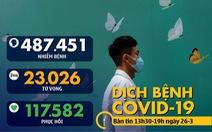 Dịch COVID-19 chiều 26-3: Malaysia vượt 2.000 ca nhiễm, Tây Ban Nha tăng 8.500 ca trong 1 ngày