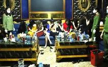 76 thanh niên dương tính với ma túy bị cách ly luôn tại quán karaoke