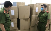 Phát hiện người nước ngoài gom hơn 77.000 khẩu trang y tế ở TP.HCM