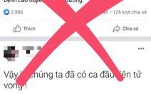 Mời chủ Facebook Nguyễn Sin làm việc do tung tin có người chết vì COVID-19