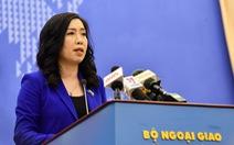 Bộ Ngoại giao khuyến cáo công dân tạm thời không di chuyển về nước