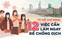 '14 ngày vàng' chống dịch COVID-19, người dân ở TP.HCM làm gì?