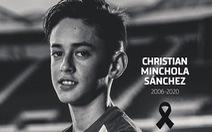 Tài năng trẻ của Atletico Madrid qua đời ở tuổi 14