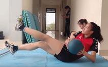 Vượt khó để tập luyện giữa mùa COVID-19