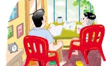 'Lớp học' ở nhà, ngày dài hóa trong trẻo