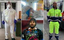 Cầu thủ lái xe cứu thương 13 giờ mỗi ngày