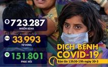 Dịch COVID-19 chiều 30-3: Ý hơn 97.000 ca nhiễm, bảo hiểm Mỹ nói người bệnh 'đừng lo viện phí'