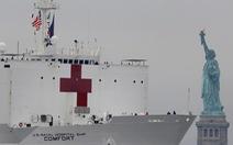 Dân New York mừng vui đón tàu bệnh viện 1.000 giường tới giải vây