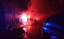 Cháy lớn nhà xưởng trong Khu công nghiệp Cát Lái