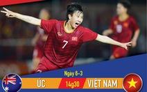 Lịch thi đấu trận play-off tranh vé dự Olympic 2020: tuyển nữ Úc - tuyển nữ Việt Nam
