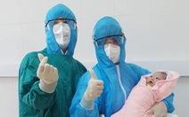 Một em bé chào đời trong khu cách ly ngừa dịch COVID-19 ở Hà Nội