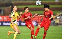 Tuyển nữ Việt Nam gặp Úc ở lượt về trên sân không có khán giả