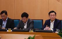 Video trực tiếp: Hà Nội đang họp khẩn sau khi có ca nhiễm dịch COVID-19 thứ 17
