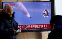 Triều Tiên bắn 3 vật thể bay không xác định ra biển