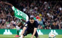 Sẩy chân trước Betis, Real Madrid mất cơ hội lấy lại ngôi đầu La Liga