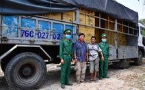 Bắt xe tải chở lậu 527.000 khẩu trang y tế 'chờ giao phía Campuchia'