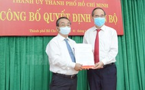 Bí thư quận Bình Tân giữ chức bí thư Đảng ủy khối Dân - chính - đảng TP.HCM