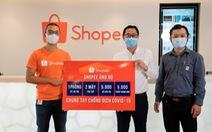 Shopee hỗ trợ thiết bị y tế trị giá 3 tỉ đồng chống dịch COVID-19