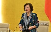 Chủ tịch Quốc hội gửi thư đề nghị đại biểu tạm dừng hội họp chưa cấp thiết